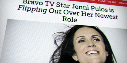 2017 Pageant Host and BravoTV Star Jenni Pulos Talks to Parade Magazine About 'Miss You Can Do It'